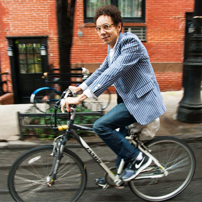 Malcolm Gladwell on Bicycle goodkin