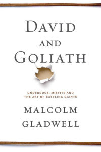 Malcolm Gladwell David and Goliath cover goodkin
