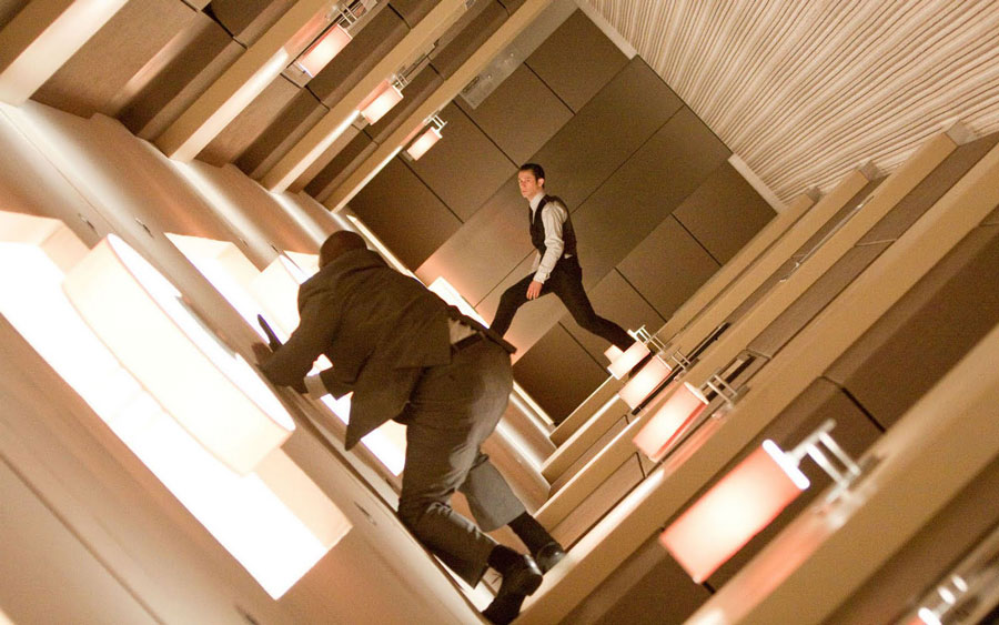 Inception Hallway Fight Joseph Gordin Levitt goodkin