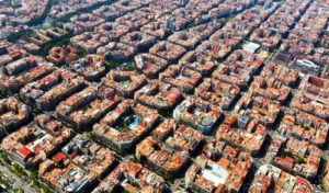 Barcelona from above goodkin